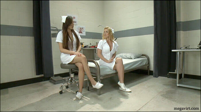 Лесбіянки медсестри